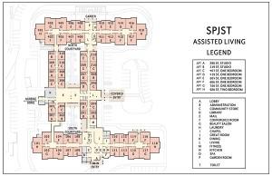 S.P.J.S.T Assisted Living Floorplan Model
